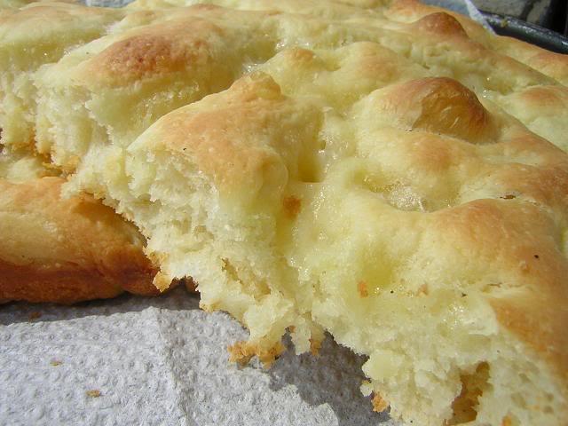 Focaccia Genovese Ricetta Originale Bimby.Focaccia Genovese